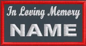 In Loving Memory Name - Polytwill