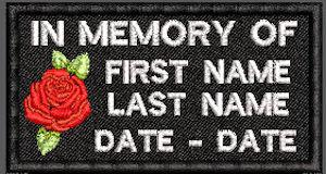 In Memory Of Rose Patch