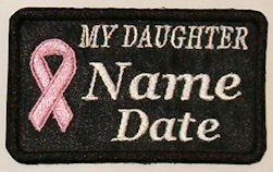 My Daughter Cancer Patch