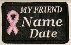 My Friend Cancer Patch