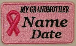 Cancer MY GRANDMOTHER Patch