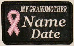 My Grandmother Cancer Patch