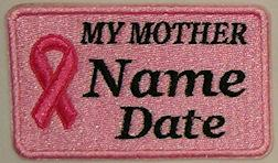 Cancer MY MOTHER Patch
