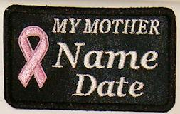 My Mother Cancer Patch