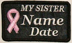 My Sister Cancer Patch
