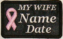 My Wife Cancer Patch
