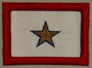 Gold Star Patch Horizontal - 1 Star