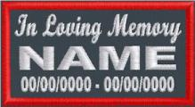 In Loving Memory Name and Dates - Polytwill