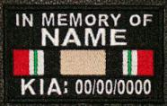 In Memory Of Iraq KIA Patch