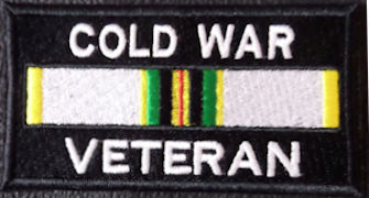 Cold War Veteran Service Ribbon Patch
