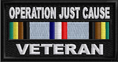 Operation Just Cause Service Ribbon Patch