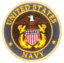 US Navy 3in Patch