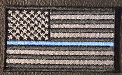 US Flag Thin Blue Line