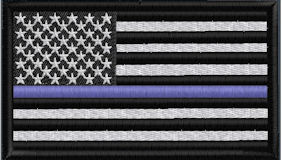 US Flag Thin Blue Line - Click to View Options