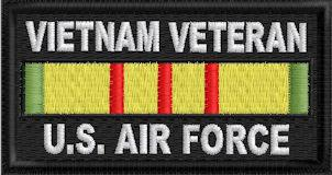 Vietnam Veteran US Air Force Patch