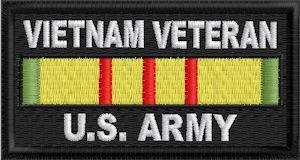Vietnam Veteran US Army Patch
