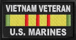 Vietnam Veteran US Marines Patch
