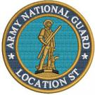 4in Army National Guard Location Patch