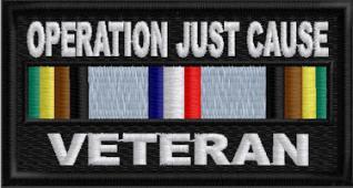 Cold War Veteran Service Ribbon Patch