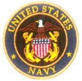 US Navy Patch 3in