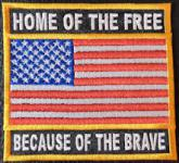 US Flag - Home Of The Free