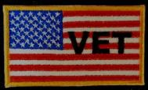 US VET Flag - Small