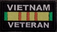Vietnam Veteran Service Ribbon Patch