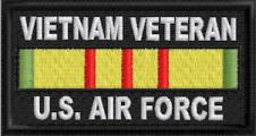 Vietnam Veteran US Air Force Patch
