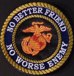 No Better Friend No Worse Enemy 4in-Black