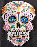 Sugar Skull - Day Of The Dead Skull