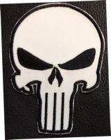 The Punisher Skull PT White