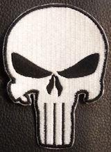 The Punisher Skull White