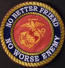 No Better Friend No Worse Enemy 4in-Red