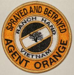 Agent Orange Patch - Small