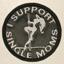 I Support Single Moms Patch