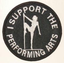 I Support the Performing Arts Patch