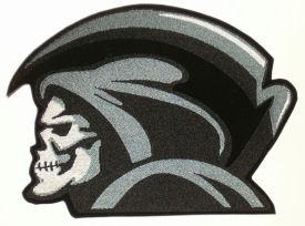 Large Grim Reaper Back Patch
