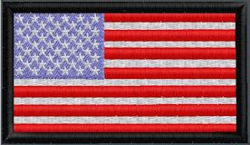 US Flag XSmall 3x1.75in