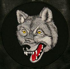 Wolf Head Center Patch