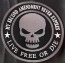 My 2nd Amendment Never Expires 11.5in Back Patch