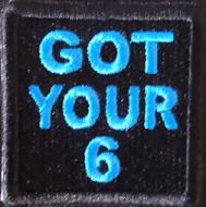 GOT YOUR 6 Patch