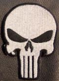 The Punisher Skull - Silver