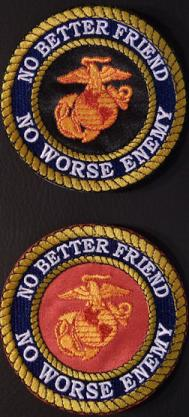 No Better Friend No Worse Enemy 4in-BLACK and Red