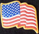 Small US Flag Wavy