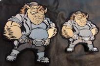 Warthog Back Patch Set - Adult-Youth