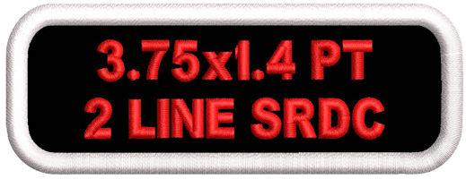 3.75x1.4 Polytwill 2 Line SRDC
