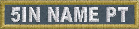 5in x 1in Name Patch - PolyTwill