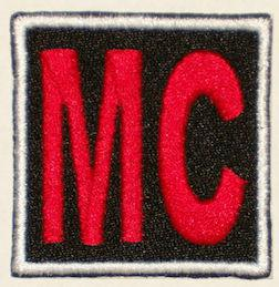 2x2in MC Patch - Full Embroidered