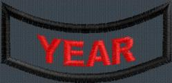 2.5x.75 YEAR ONLY PATCH