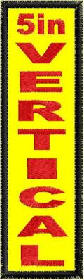 5in Vertical Patch